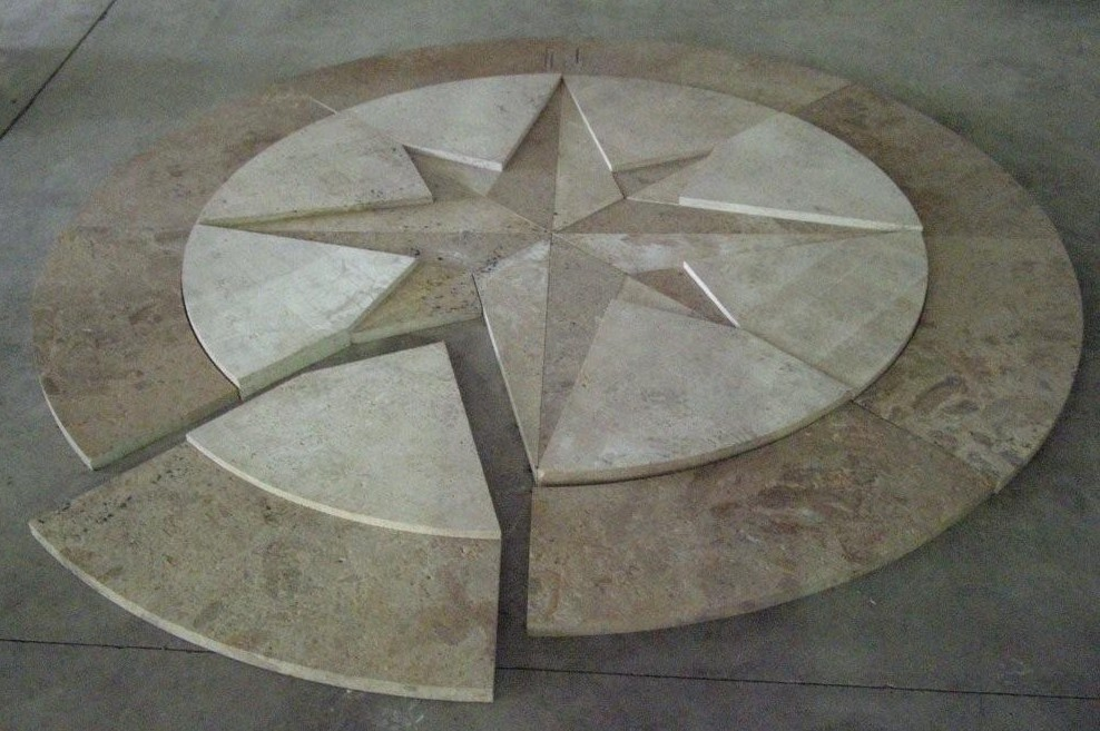 Miscellaneous Compass Rose Gothic Stone