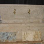 Fountain - Cream Travertine-web